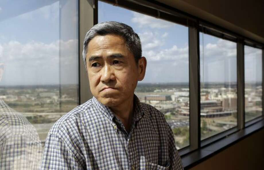 I-le Lu, who is one of his clients suing City Councilman Al Hoang over possible forgery of petition signatures, said he does not believe the councilman's nanny was responsible. Photo: Melissa Phillip, Chronicle