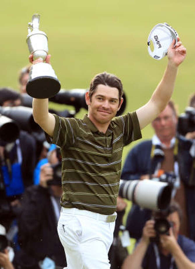 South Africa's Louis Oosthuizen is the defending British Open champion. Photo: Tim Hales, AP