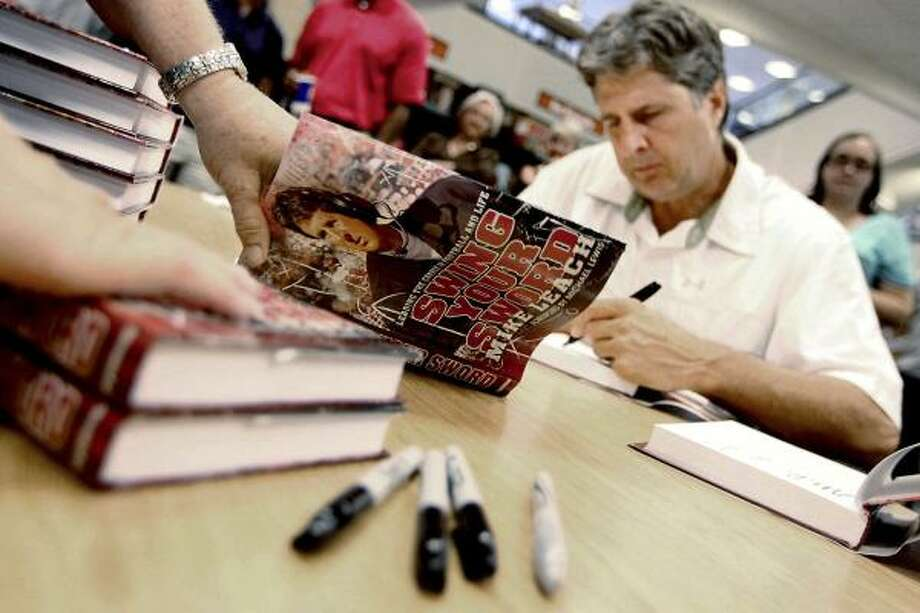 Since turning in his coaching garb, Mike Leach has seen life take him far from Lubbock. He now lives in Key West, Fla. Photo: Miranda Grubbs, Associated Press