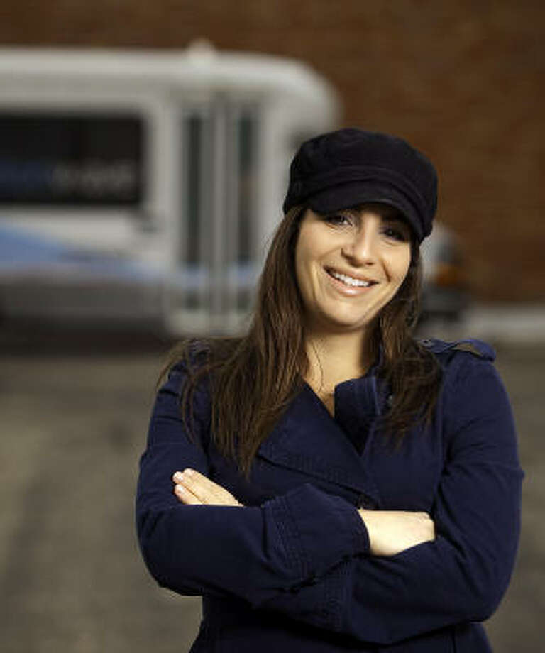 Lauren Barrash says up to eight food trucks could be rotated on different nights, creating a sort of mobile food court. Photo: Todd Spoth, Chronicle