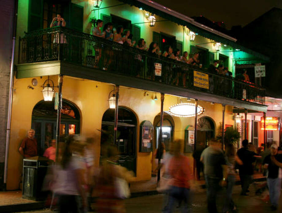 New Orleans is famous for its night life. Even death, some say, can't stop many from leaving those times of revelry behind. Photo: ELLEN CREAGER, DETROIT FREE PRESS | MCT
