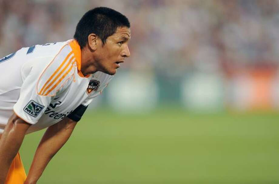 Forward Brian Ching and the Dynamo would not advance to the playoffs if the season ended today. Photo: Bart Young, Getty