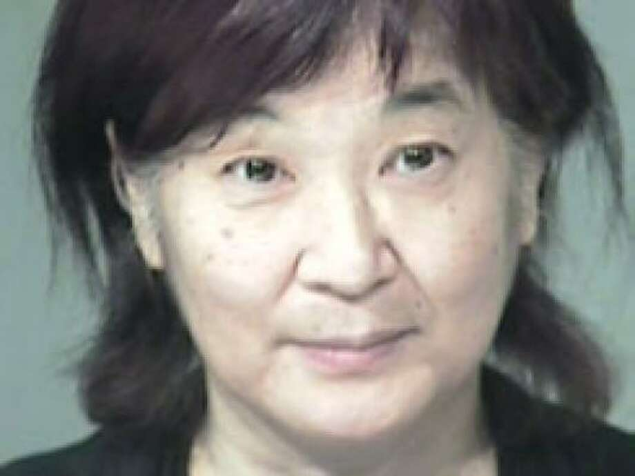 Police say Yukari Mihamae, 61, refused to go through screening and became argumentative. Photo: Maricopa County Sheriff's Office