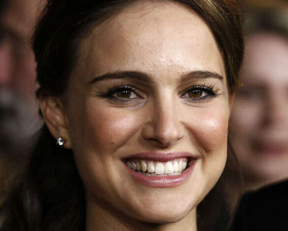 After spending most of the awards season in maternity wear, Natalie Portman has given birth to her son with fiance Benjamin Millepied. Photo: Matt Sayles, AP