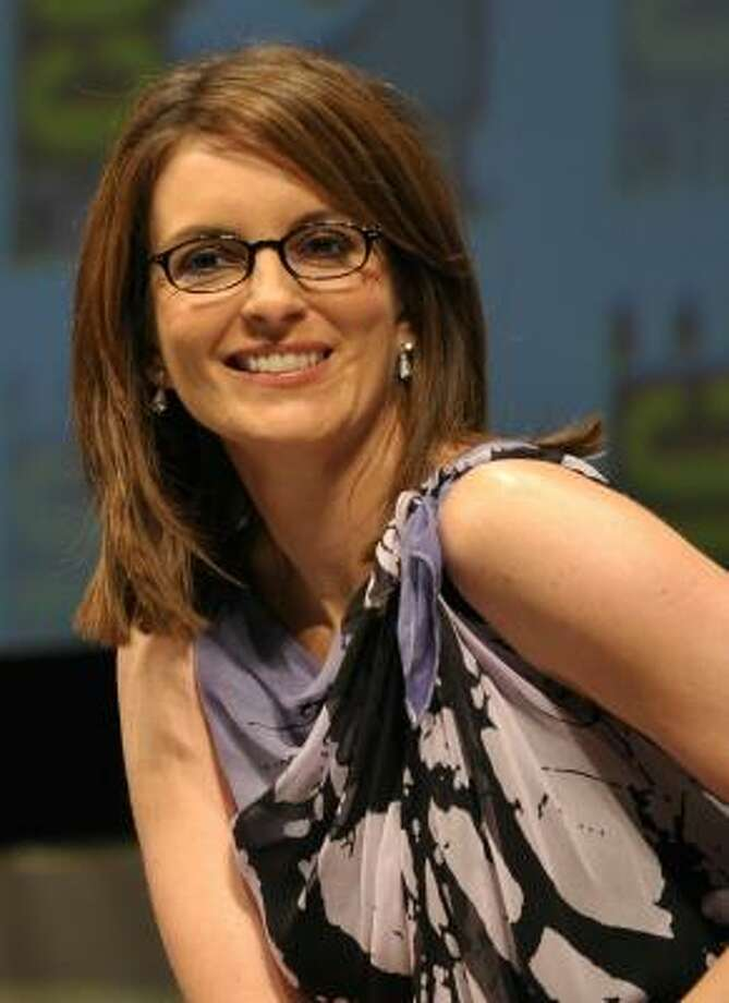 Tina Fey is smart, funny and looks hot in glasses.  Photo: John Shearer, Getty Images For Paramount