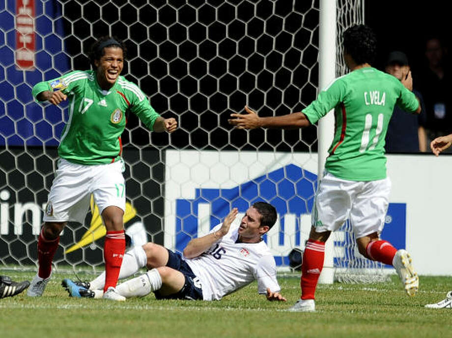 July 26, 2009: Mexico 5, U.S. 0Mexico demolished the U.S. for their first victory on U.S. soil in over a decade. Both Mexico and the U.S. had teams with a base of domestic league players. Photo: Jeff Zelevansky, Getty Images