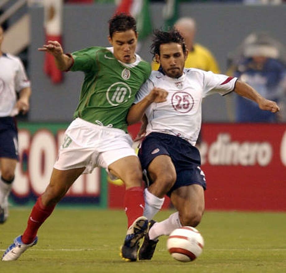 April 28, 2004: U.S. 1, Mexico 0This was the last victory in one of the longest win streaks against Mexico. In the past four encounters, the U.S. won three out of the four matches. Photo: TONY GUTIERREZ, ASSOCIATED PRESS