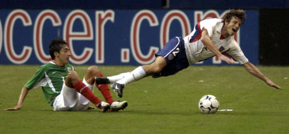 May 8, 2003: U.S. 0, Mexico 0This was the first time both teams faced each other in Houston. The physical back-and-forth game ended in a 0-0 tie. Photo: DAVID J. PHILLIP, ASSOCIATED PRESS