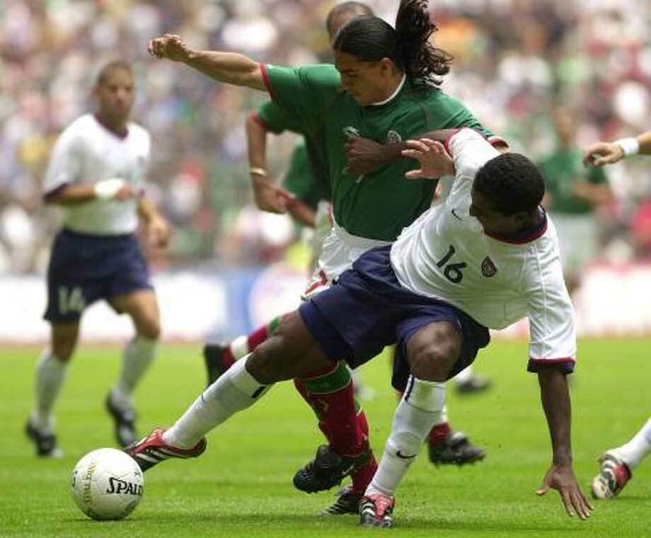 July 1, 2001: Mexico 1, U.S. 0Mexico continued to defeat the U.S. on Mexican soil and the Azteca proved to be too much for the U.S. Photo: CLAUDIO CRUZ, ASSOCIATED PRESS
