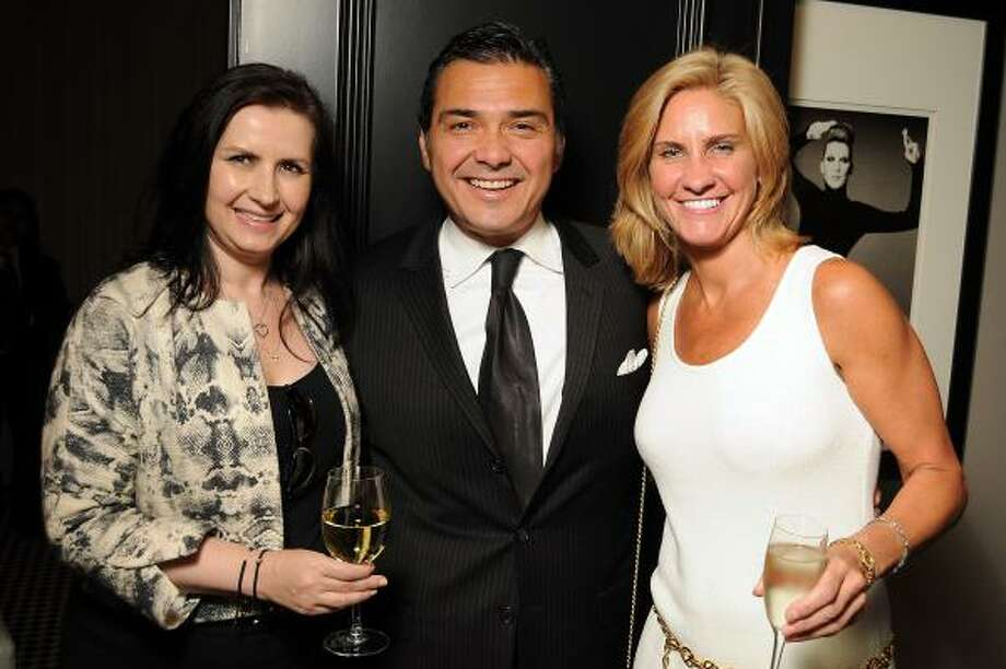 Sylvia Fortythe, Albert Rubio and Dr. Dian Ginsberg Photo: Dave Rossman, For The Chronicle