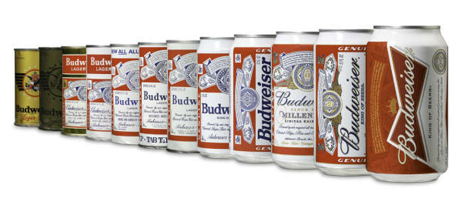 "The self-proclaimed ""King of Beers,"" is getting a new ""bowtie"" look this summer with a redesigned can. Photo: Handout"
