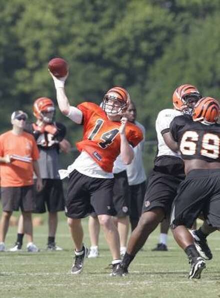 August: Andy Dalton entered the season as the Bengals' start