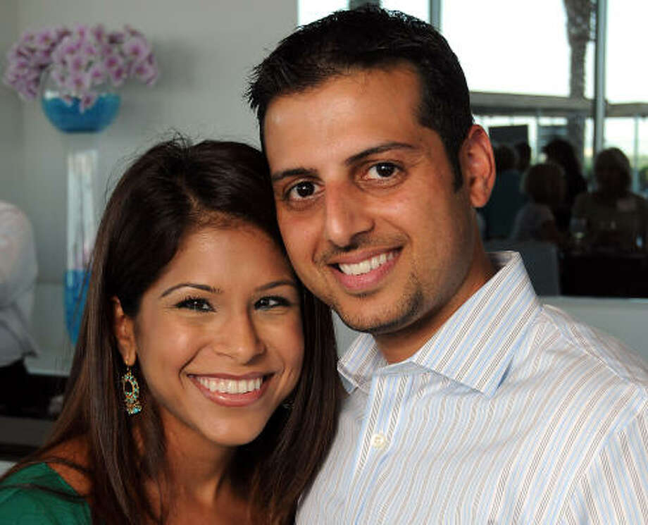 Shilpa and Tuhin Pankaj Photo: Dave Rossman, For The Chronicle
