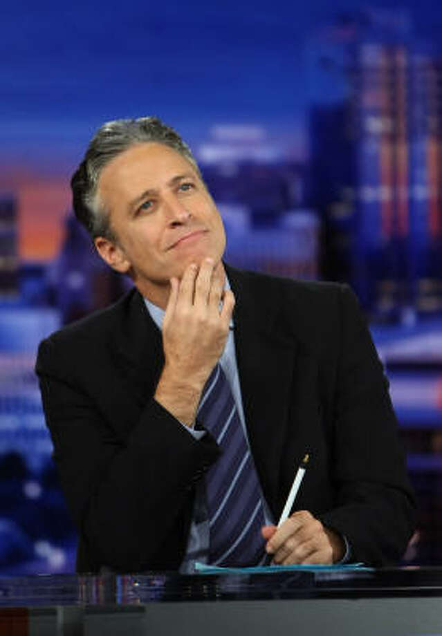 Best: Jon Stewart Photo: Ethan Miller, ALL