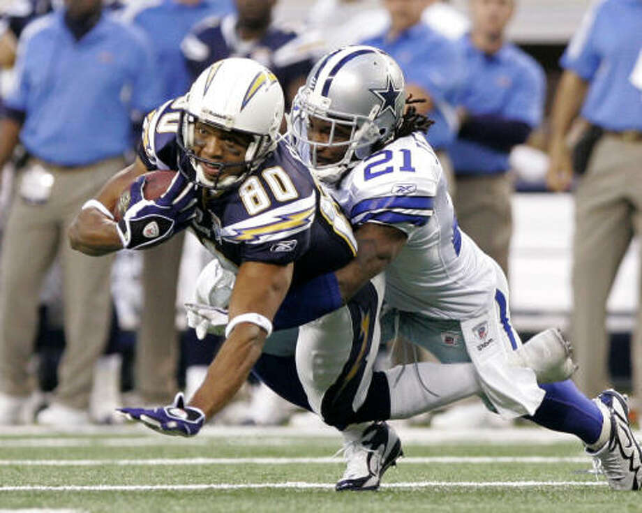 WR Malcolm Floyd, Chargers If the Texans lose Jacoby Jones, they'll need a replacement. Floyd (6-5) has the kind of size they like. He caught 37 passes for 317 yards and 10 touchdowns last season. Photo: Amy Gutierrez, AP