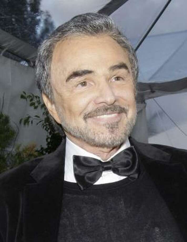 Unconfirmed: Burt Reynolds is too proud to admit his hair may not really be his. Photo: Kevork Djansezian, AP