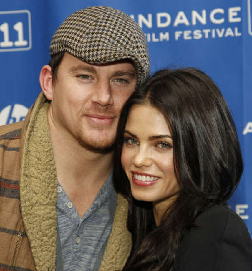 Channing Tatum and Jenna Dewan met while filming the 2006 movie Step Up. Photo: Danny Moloshok, ASSOCIATED PRESS