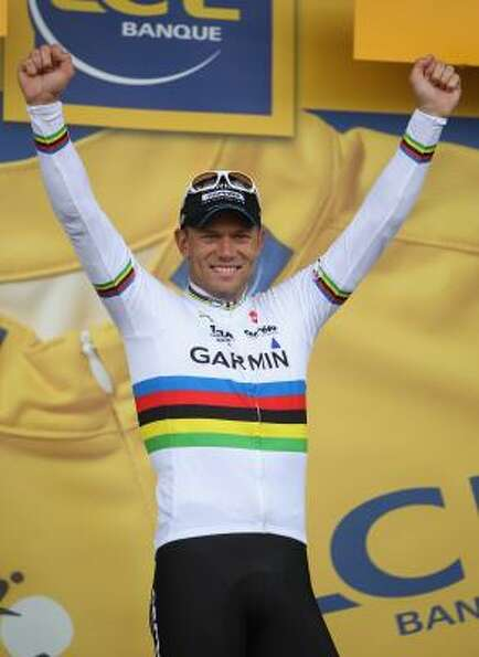 July 7Sixth StageThor Hushovd of Norway and te