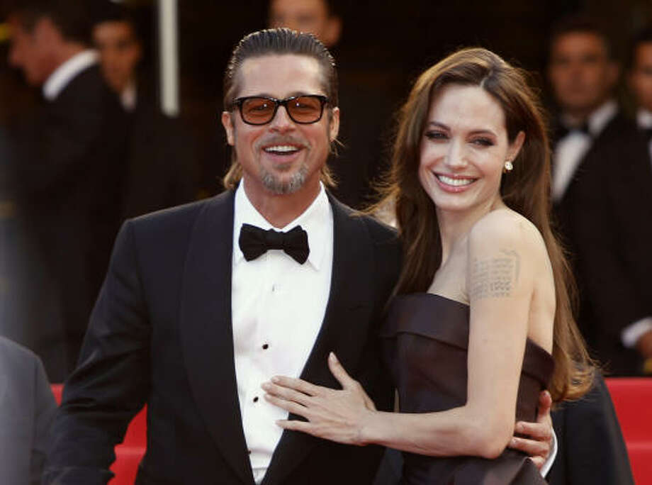 "Brad Pitt and Angelina Jolie""Angie and I will consider tying the knot when everyone else in the country who wants to be married is legally able,"" Pitt explained why the two wouldn't make their relationship official. Rumors have been circulating that a wedding is coming soon though.  Photo: Joel Ryan, Associated Press"