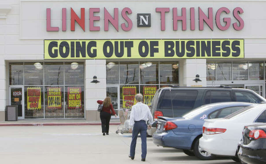Linens 'n Things(1975-2008)  The company shut all of its stores in 2008 and now only operates online. Photo: Melissa Phillip, Houston Chronicle