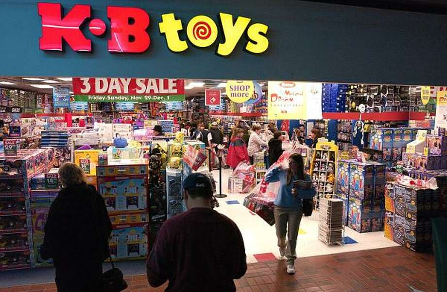KB Toys(1922-2009)  The store went out of business after 86 years of selling dolls, racecars, games and more. Photo: JOHN SUCHOCKI, AP
