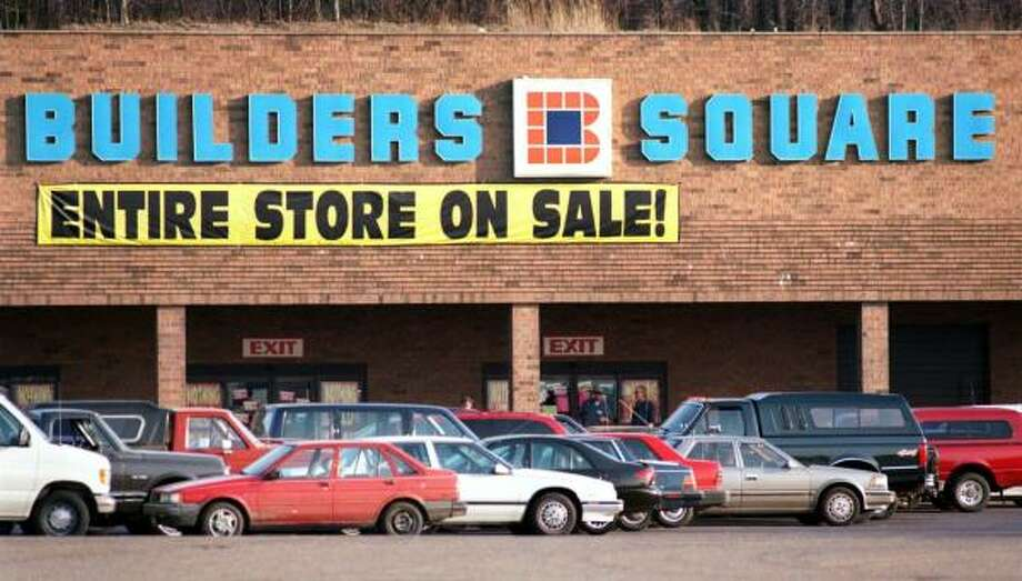 Builders Square(1984-2006)  A San Antonio-based subsidiary of K-Mart, Builders Square boarded up all its Houston locations in 1999, before the whole chain went out of business. Photo: MATT DETRICH, KRT