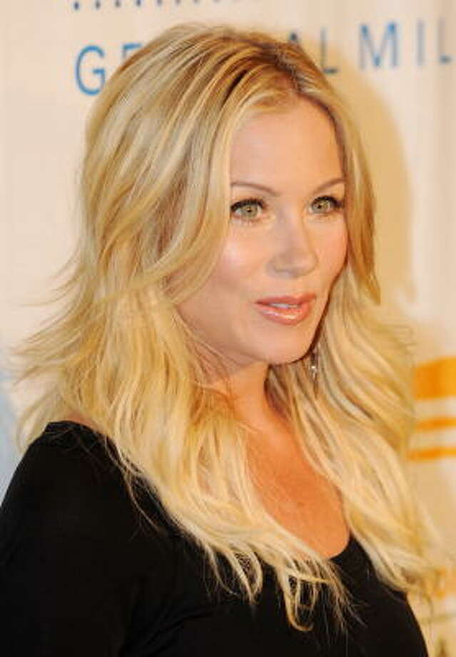 Christina Applegate played Charity Hope Valentine in the 2005 production of 'Sweet Charity,' in which a New York taxi dancer falls in love with a claustrophobic person she meets while trapped in an elevator. Photo: MARK RALSTON, AFP/Getty Images
