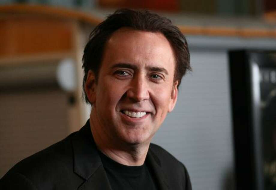 5. NicolasActor Nicolas Cage Photo: David Livingston, Getty Images