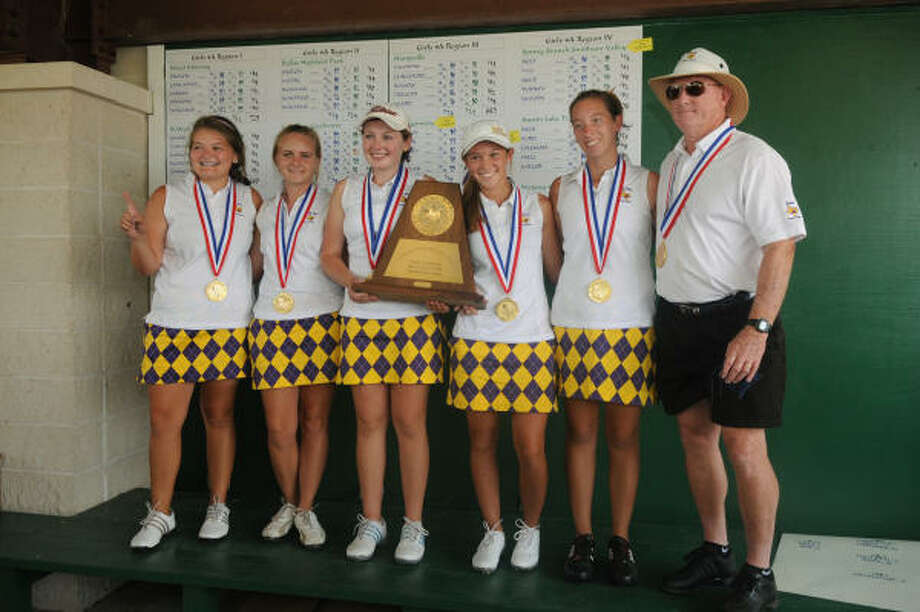 Class 4A winner: Montgomery (91 points)If you are looking for the top golf program in the state, look no further than Montgomery. The girls golf team won its 10th state championship in 11 years this season and the boys won regionals and placed third at state, giving the Bears 28 points for golf in the standings. Add a deep playoff run by the softball team, stellar seasons from the football, boys and girls soccer teams and you have the top athletic program in Class 4A- Region III.The Bears scored points in 11 sports this season and eight more more points in six of those, showing that they are tough to beat in any sport. Photo: Jerry Baker, For The Chronicle