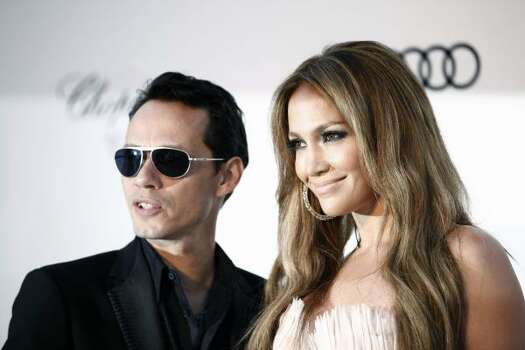 Who: Singers Marc Anthony and Jennifer Lopez