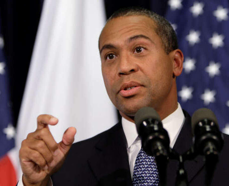Deval Patrick  State: Massachusetts RSVP: Undecided. His office has not responded yet. Photo: Charles Krupa, AP