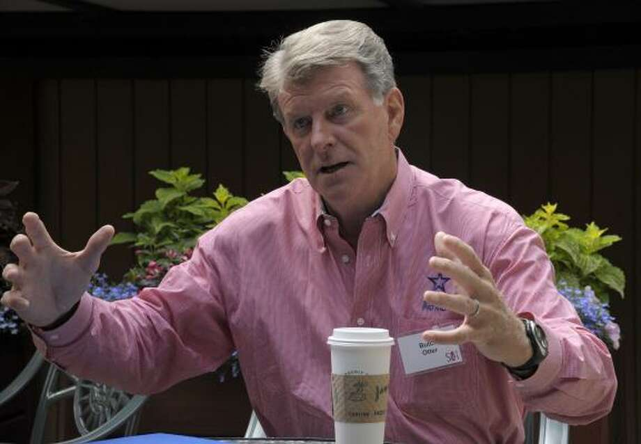 Butch Otter State: Idaho RSVP: No, due to a scheduling conflict. Photo: Peter Foley, Bloomberg