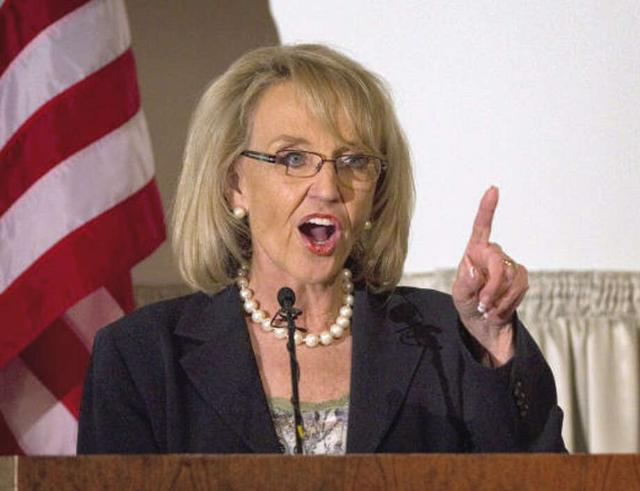 Jan Brewer State: Arizona RSVP: No, reportedly due to a scheduling conflict. Photo: Matt York, AP