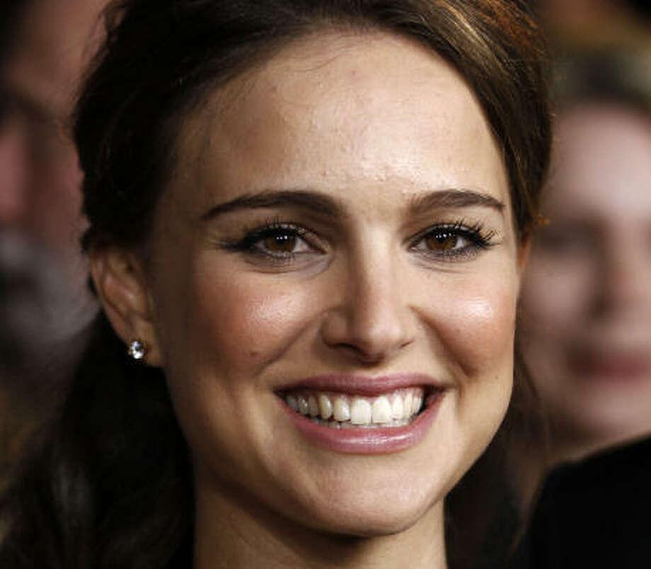 Natalie Portman and Benjamin MillepiedKid's name: Aleph Photo: Matt Sayles, AP