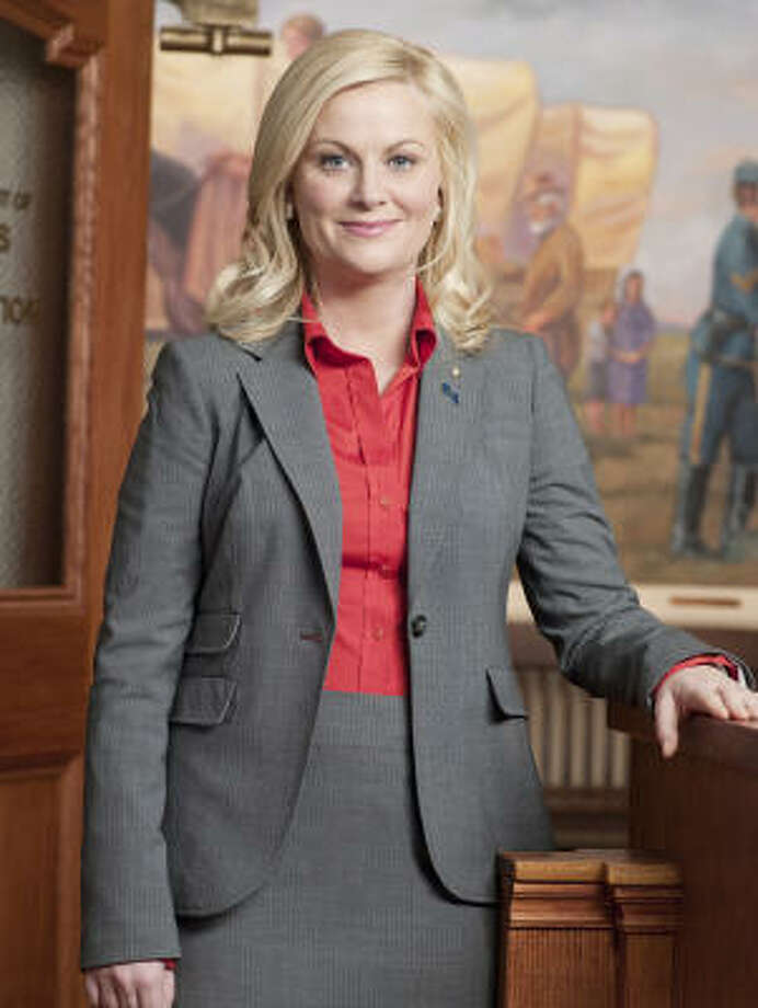 "Amy Poehler makes local government adorable every week on ""Parks and Recreation."" Photo: Mitchell Haaseth, NBC"
