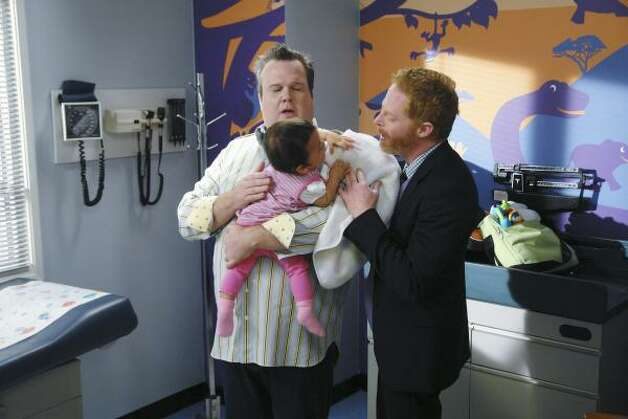 2011: Modern Family's Jesse Tyler Ferguson and Eric Stonestreet Photo: RICHARD CARTWRIGHT, ABC