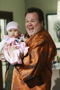 "Best performance by an actor in a supporting ole in a series, mini-series or motion picture made for television:Eric Stonestreet, ""Modern Family"" Photo: RON TOM, AP"
