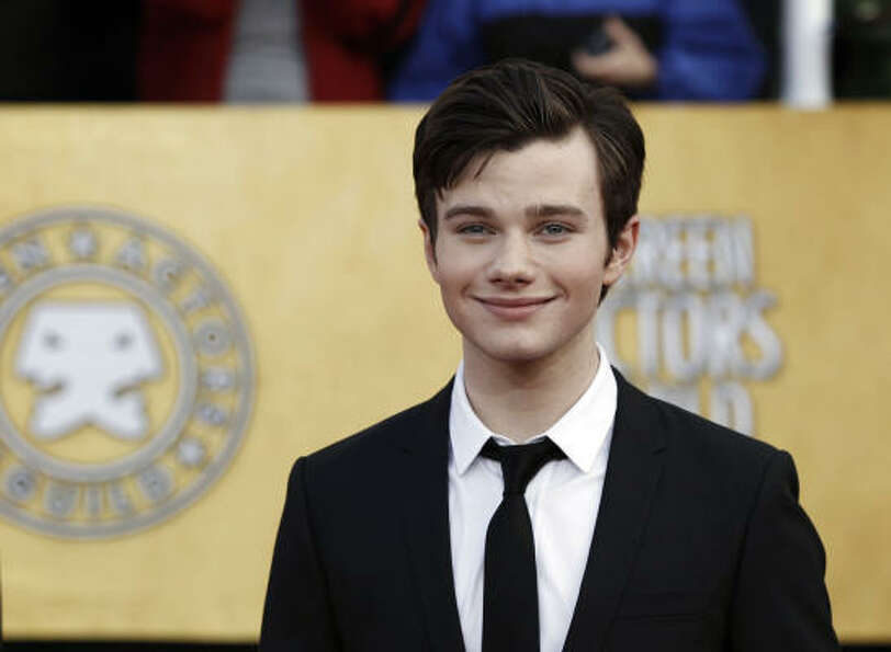 "Chris Colfer, actor, ""Glee."" Colfer also plays a gay cha"