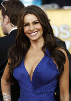"Sofia Vergara, best supporting actress in a comedy, ""Modern Family"" Photo: Matt Sayles, AP"