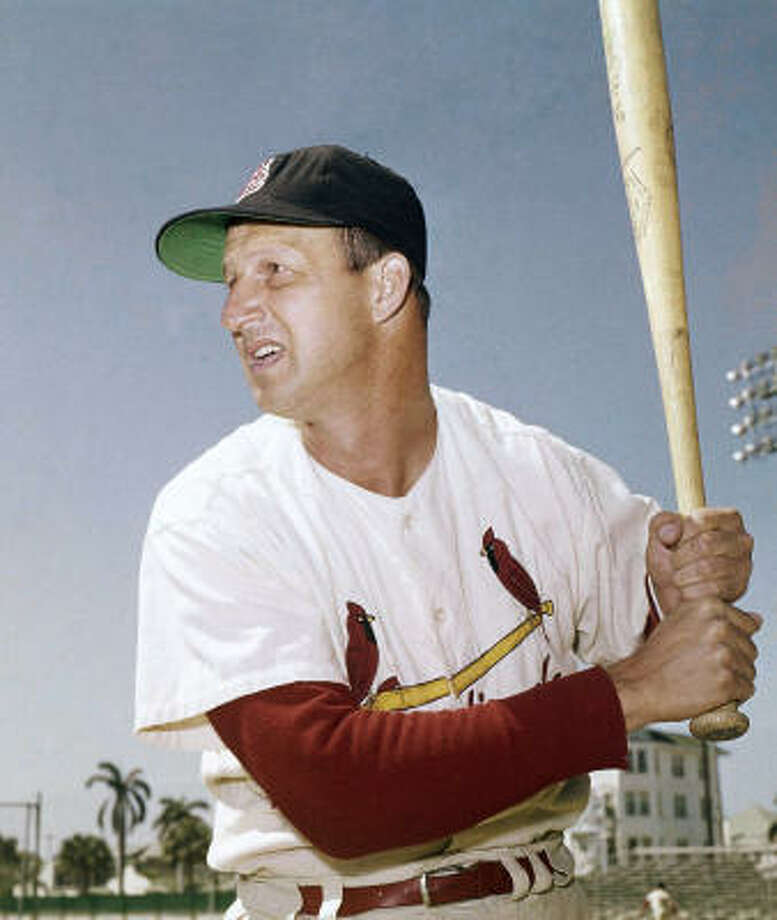 Stan Musial: 3,630  Career average: .331   Nicknamed Stan the Man, Stan Musial made a record 24 All-Star appearances. He compiled three MVP Awards and won three World Series. Musial hit a double on May 13, 1958 for his 3,000th hit. Photo: AP