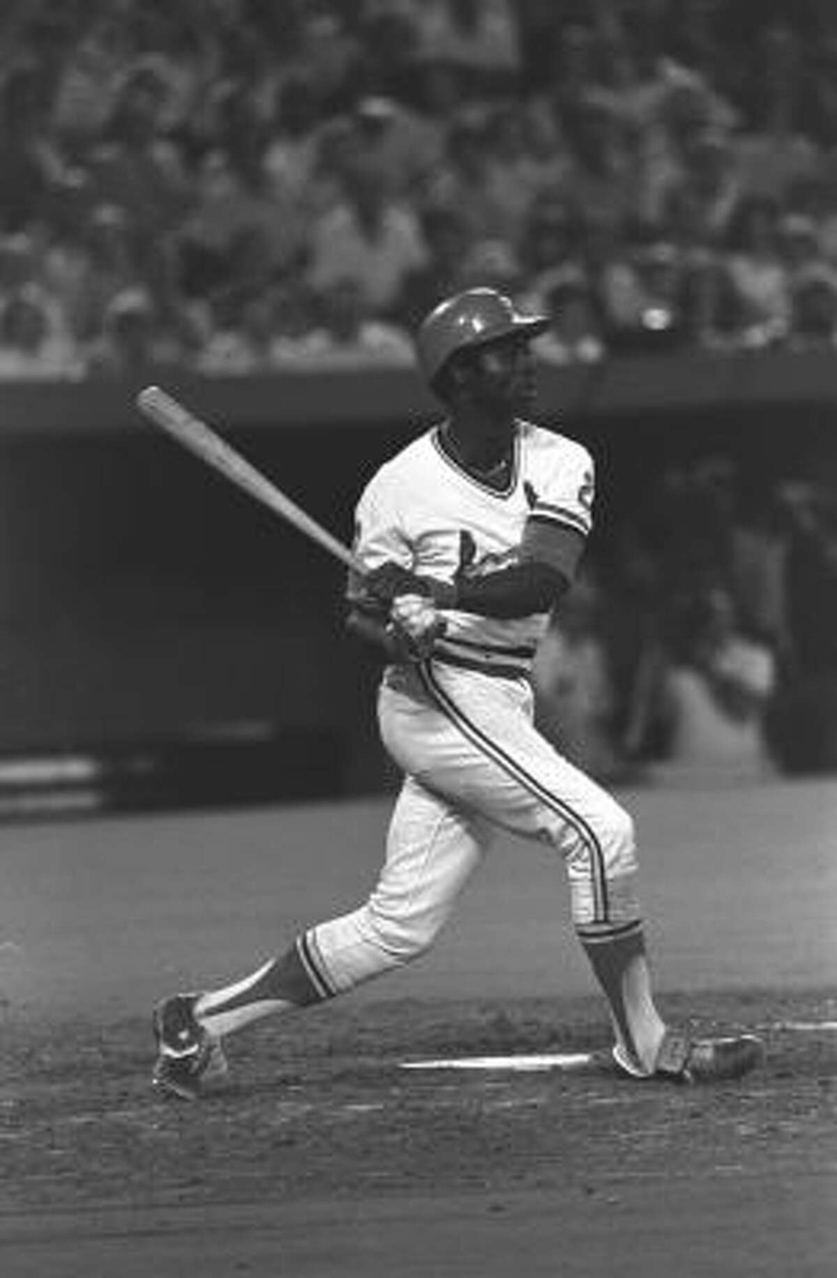 Lou Brock: 3,023 hits Career average: .293 The St. Louis Cardinals great became the 13th member of the 3,000 hit club on August 13, 1979. Brock is also second all-time in stolen bases with 938, a record he held until Rickey Henderson broke it in 1991.