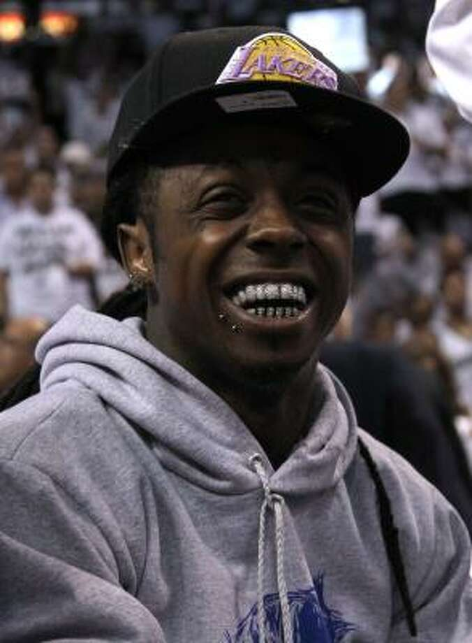 Lil Wayne Photo: Mike Ehrmann, Getty