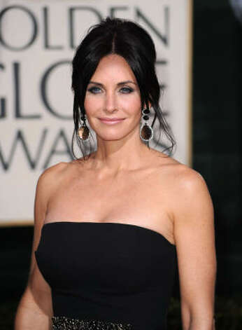 "Courtney Cox stars in a show called ""Cougar Town."" Enough said.  Photo: Frazer Harrison, Getty Images"