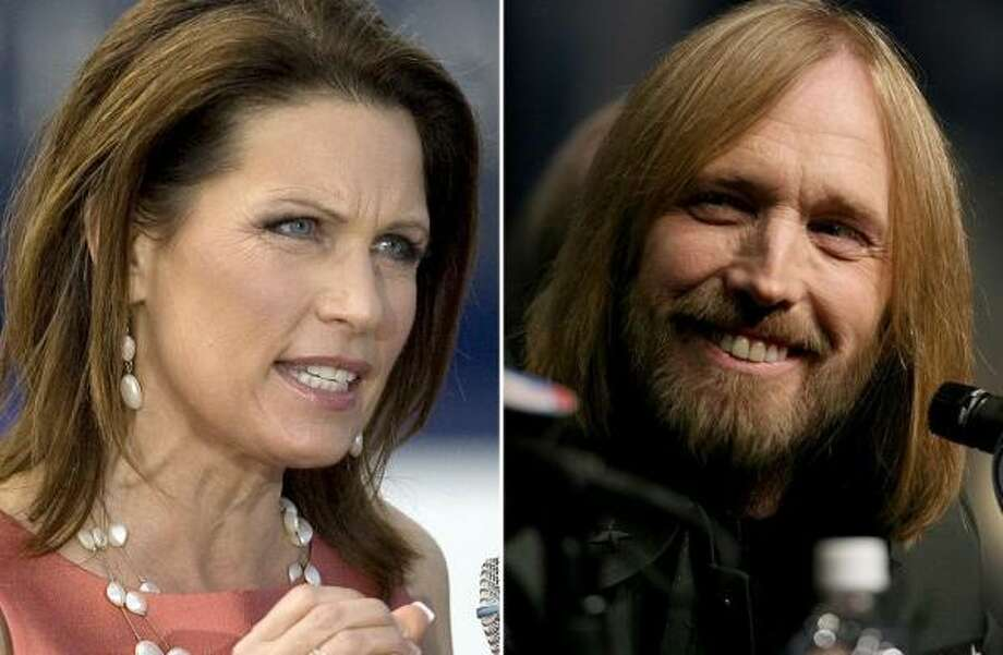 "Singer Tom Petty recently sent Republican presidential candidate Michele Bachmann a cease-and-desist letter telling the Minnesota Republican to stop using his song ""American Girl."" It's the latest in a long line of hit-and-miss relationships between presidential candidates, musicians and their songs."