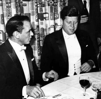 Frank Sinatra famously campaigned for John F. Kennedy in 1961. Photo: AP