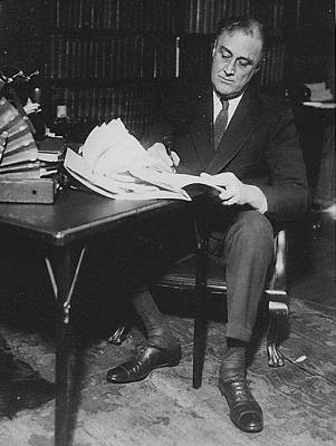 1940: Franklin D. Roosevelt, Democrat, winner Photo: Franklin D. Roosevelt Library, MCT
