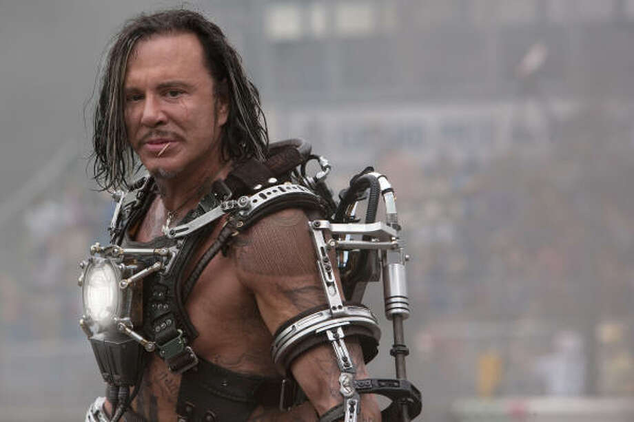 "Mickey Rourke played the villain Whiplash in ""Iron Man 2."" Photo: Photo Credit: Francois Duhamel, Francois Duhamel"