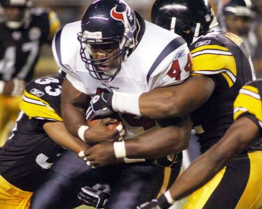 2003-05: Moran NorrisThe most productive running stretch in team history when Domanick (Davis) Williams averaged 1,033.2 yards rushing. Photo: Associated Press File