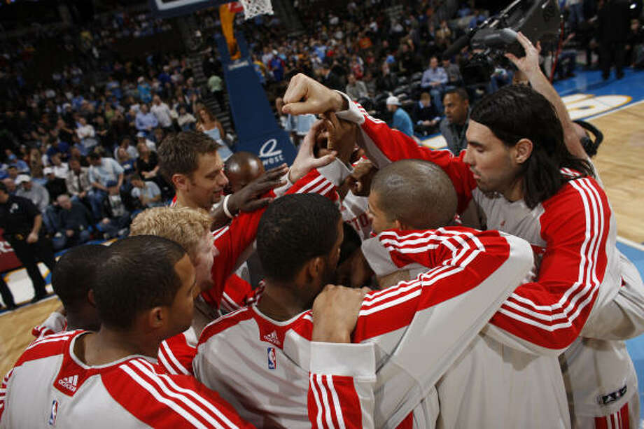 1. Hoping the Rockets will reach the postseasonFor the second straight year, the Rockets had a winning record but failed to make the playoffs. In the past two seasons, the Rockets had 42 or more wins, but faltered in the last week of the season and lost any hope of squeezing into the playoffs as the Western Conference's eighth seed. Photo: David Zalubowski, ASSOCIATED PRESS