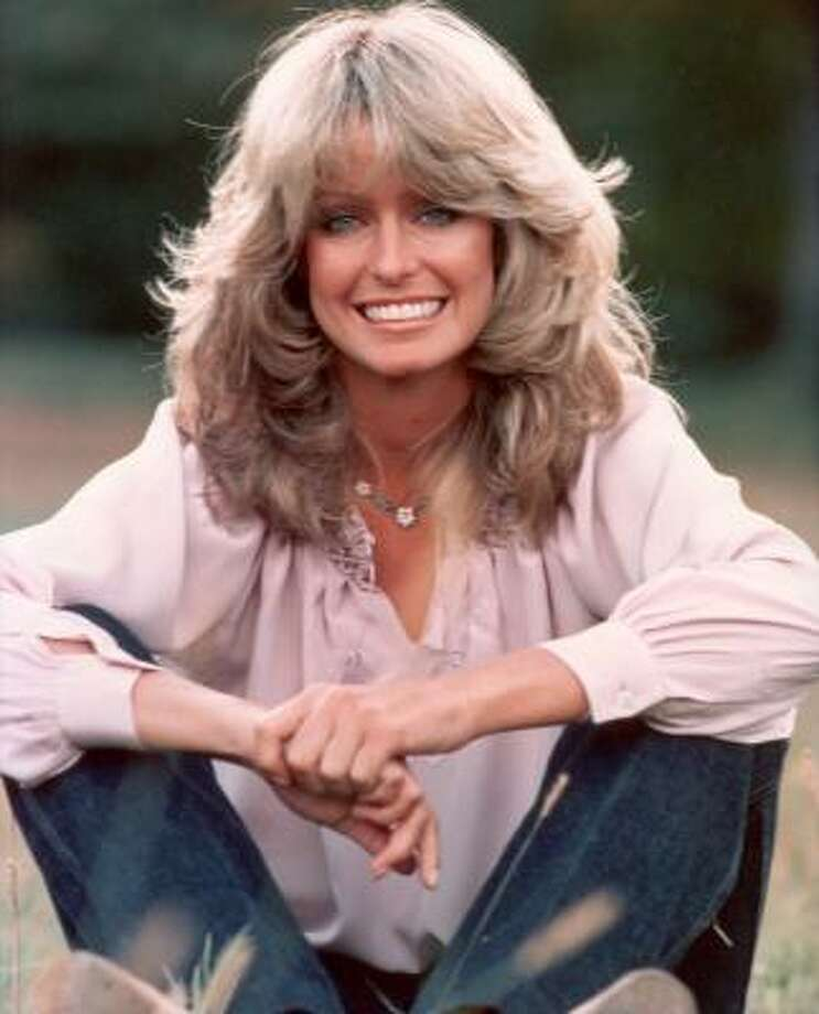 "Farrah Fawcett's Feathered Flip No one has ever done more for the ""feathered"" look. While the '70s and Fawcett are no longer with us, this vintage style is still a favorite with ladies everywhere. Photo: Hulton Archive, Getty Images"